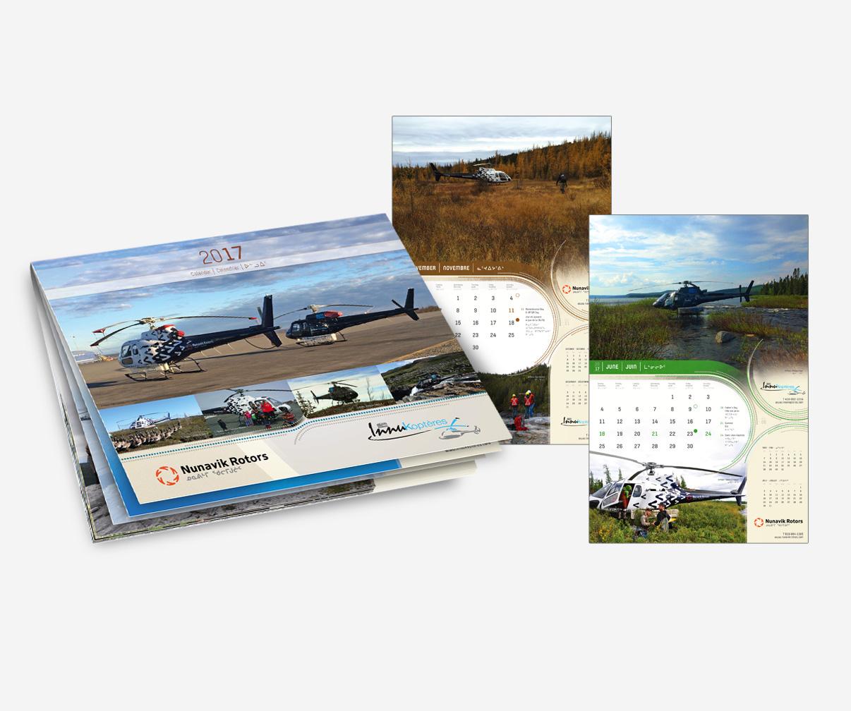 Nunavik Rotors - Calendrier 2017