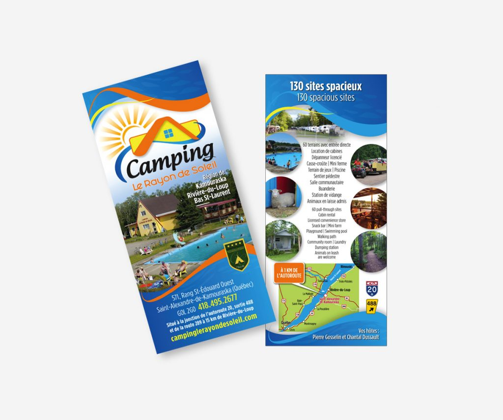 Camping Le Rayon de Soleil - Encart promotionnel