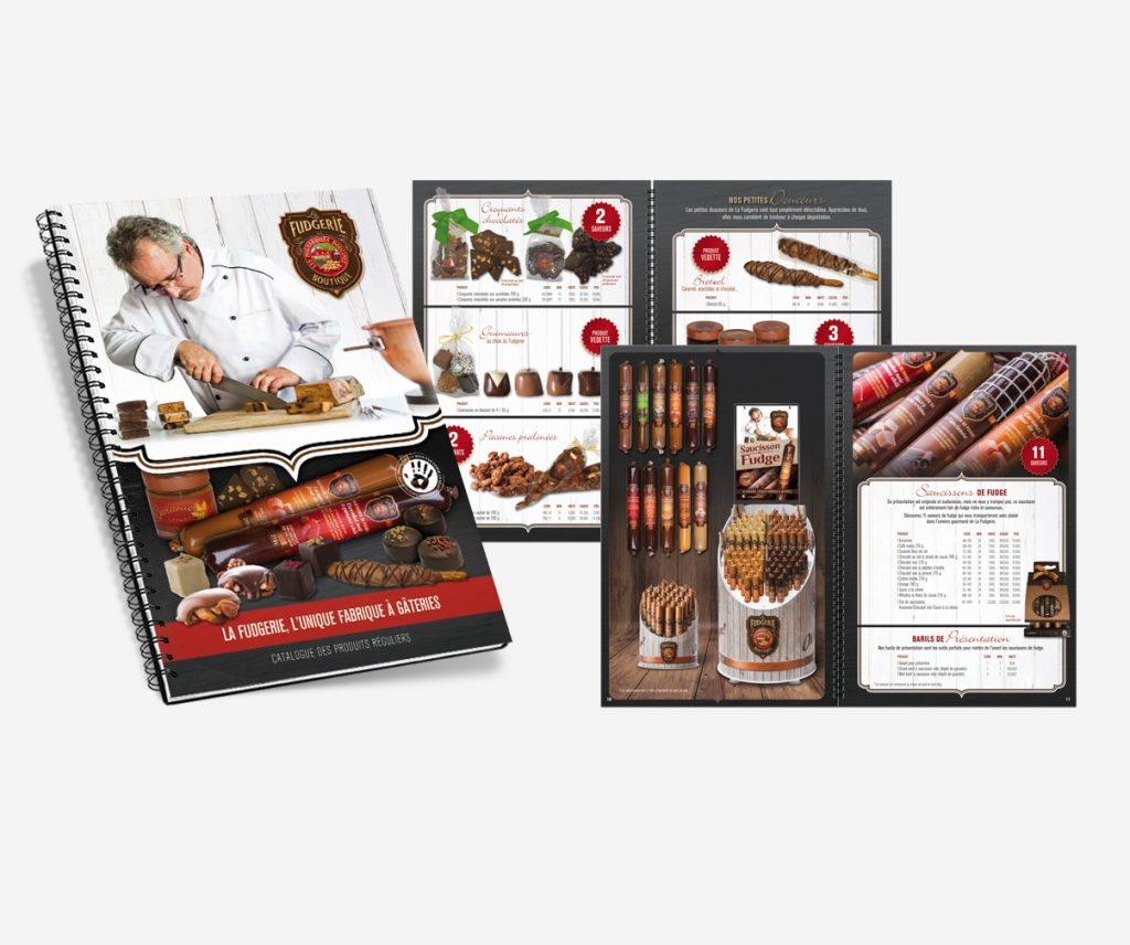 La Fudgerie - Catalogue produits régulier