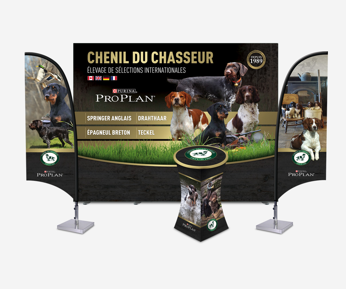 Chenil du chasseur - Kiosque promotionnel