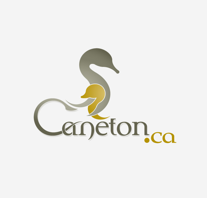Caneton - Support à canne