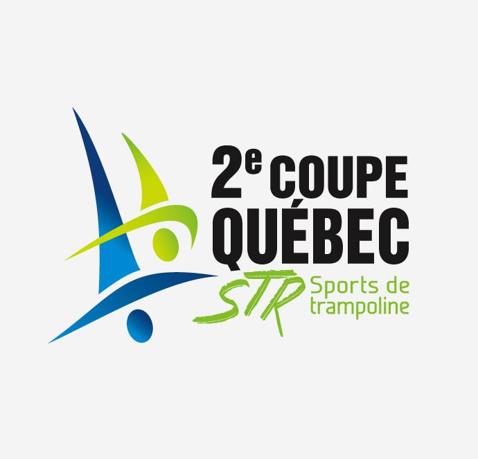 Club de gymnastique Québec Performance - Logo Coupe Québec STR