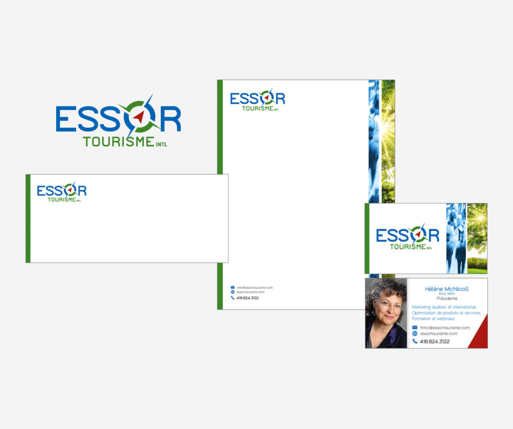 Essor Tourisme International - Papeterie