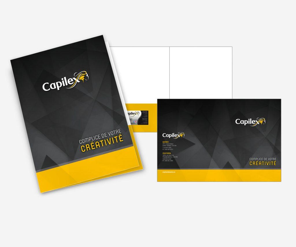 Capilex - Pochette corporative