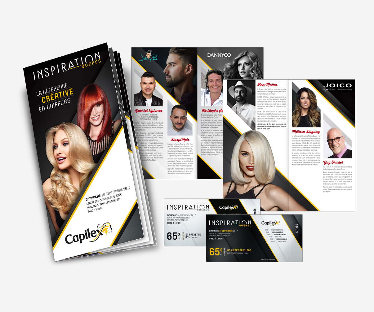 Capilex - Programme Inspiration Québec 2017