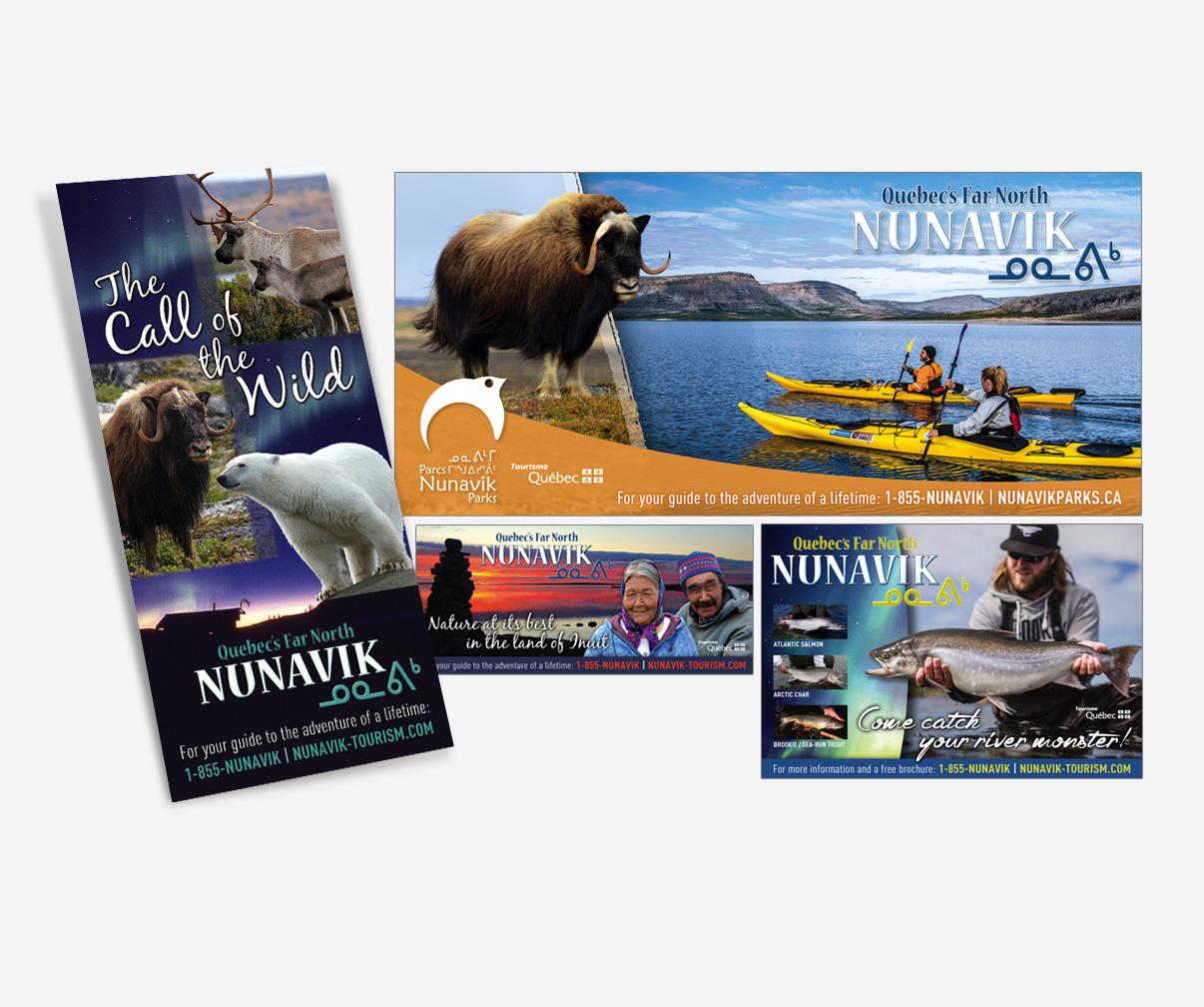 Association touristique du Nunavik - Publicités diverses