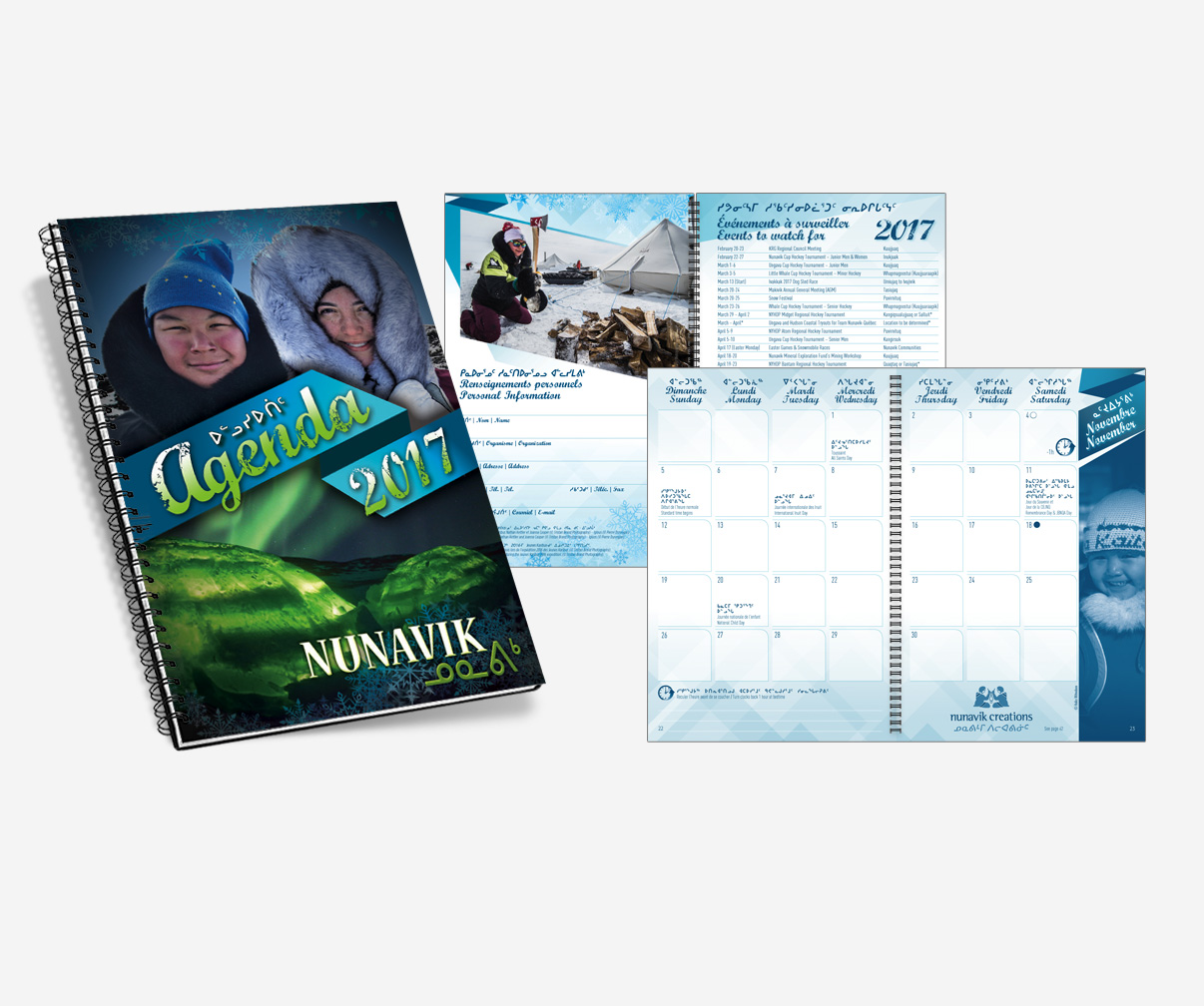 Association touristique du Nunavik - Agenda 2017