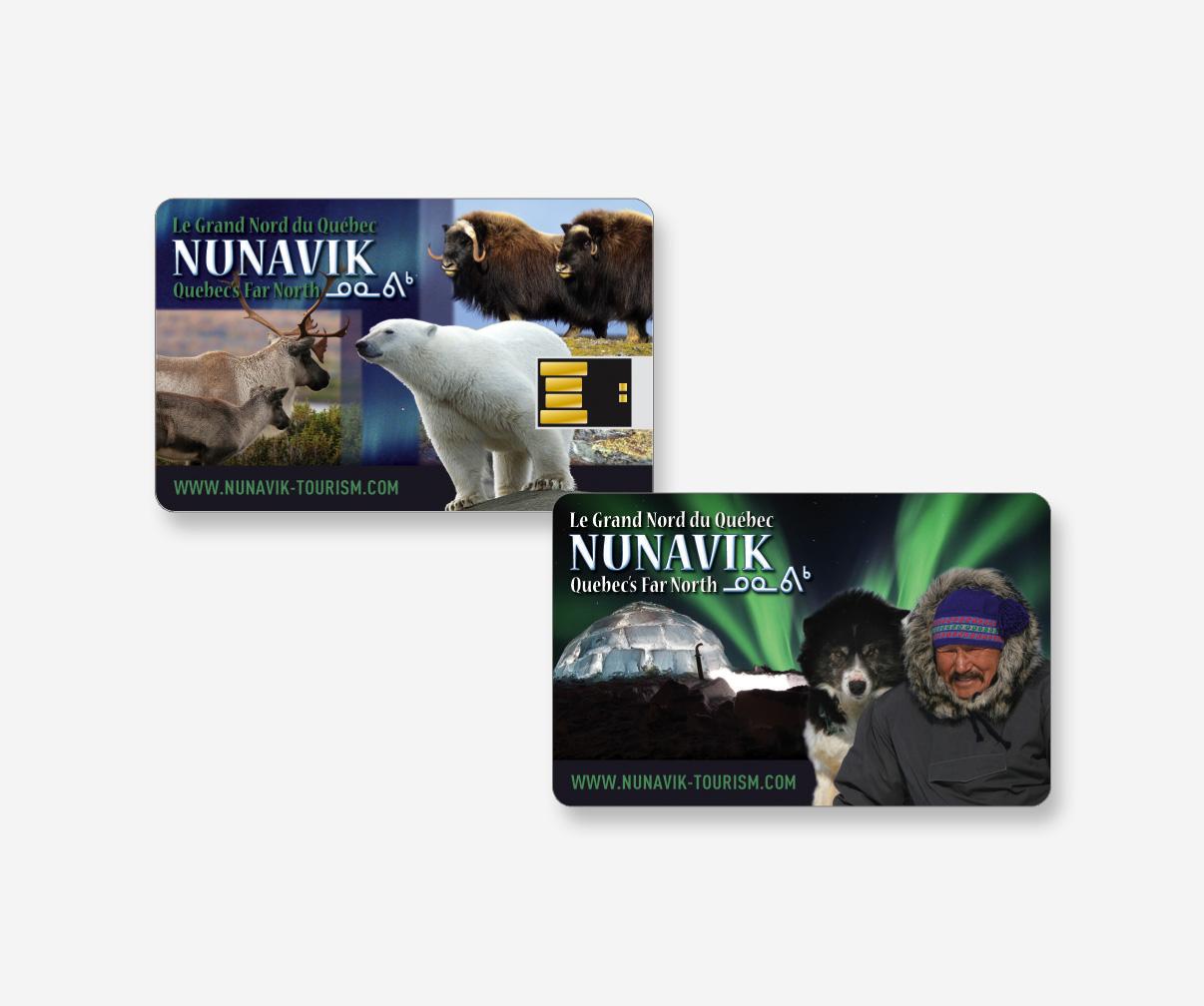 Association touristique du Nunavik - Carte mémoire USB
